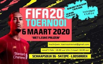 FIFA20 Toernooi 6 maart